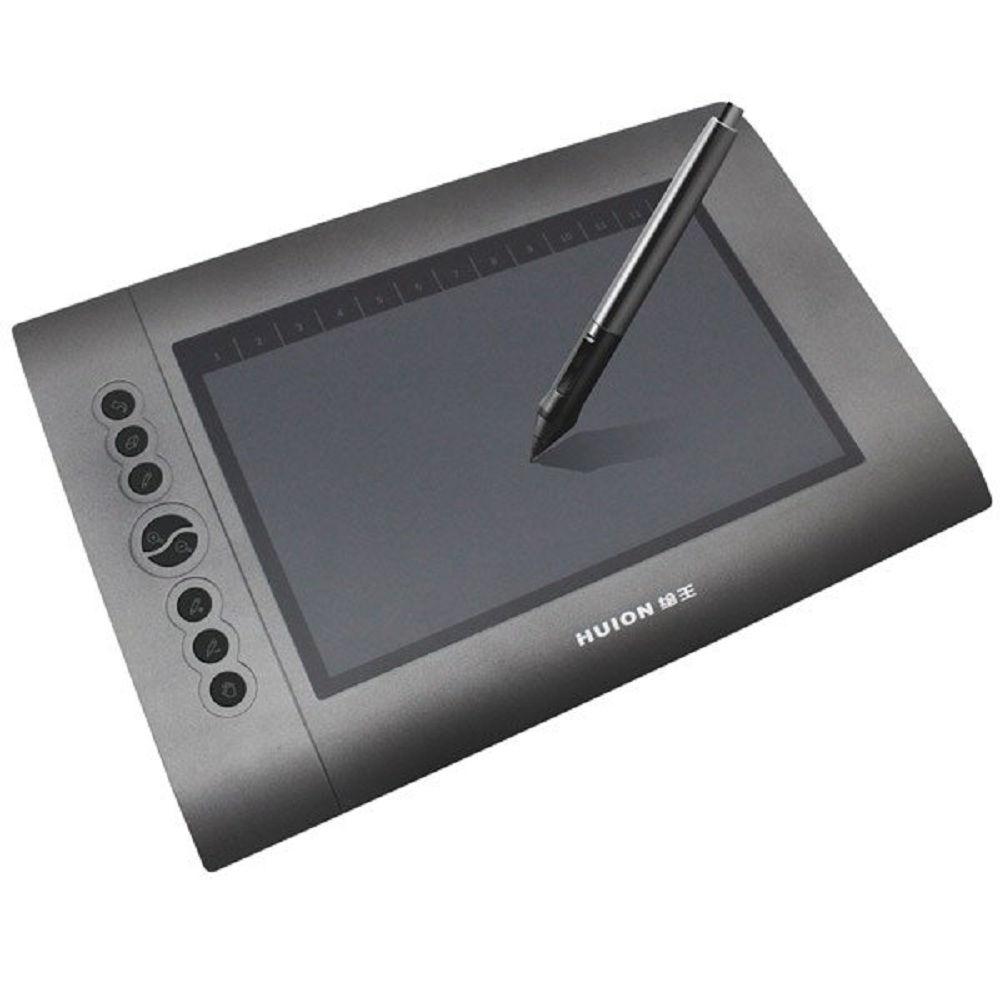 2016 New Arrival Huion H610 4000 LPI Professional Electronic Graphic Drawing Tablet with 8 Express Keys(China (Mainland))