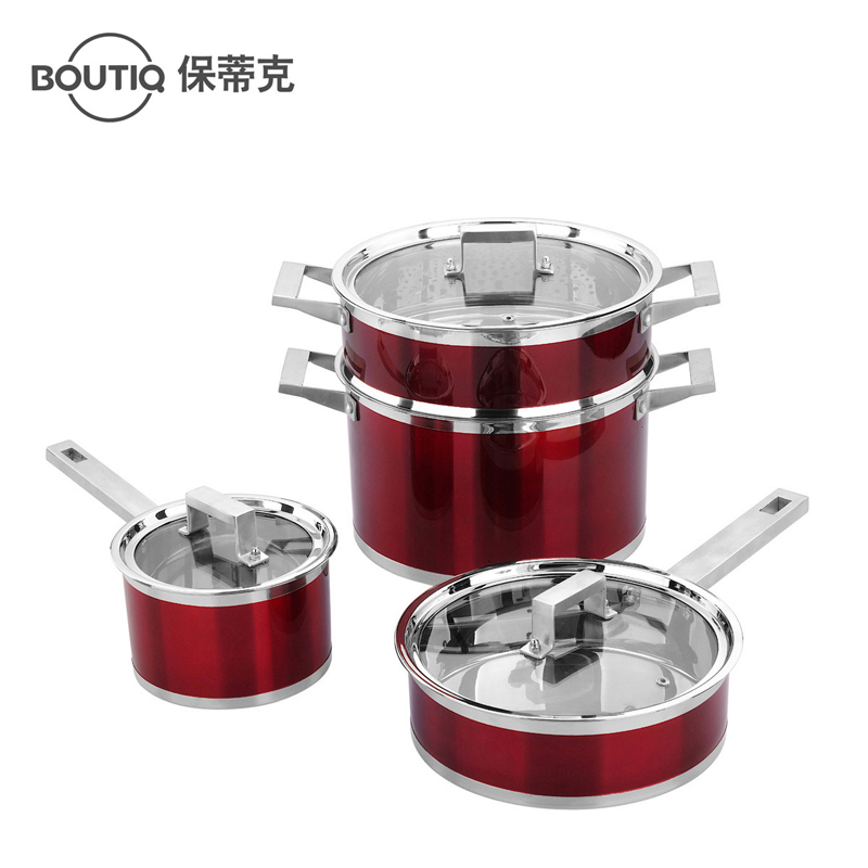 Free Shipping Boutiq Stainless Steel Colorful Household