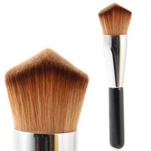 1Pcs Single Contour Angle Blush Makeup Brushes Face Big Large Angled Powder Foundation Brush Kabuki Cosmetic Tool Set