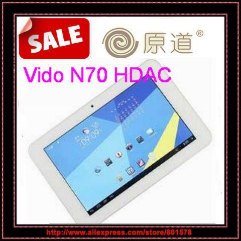 Yuandao Vido N70 Quad Core HDAC ATM7029 IPS screen,1GB RAM 16GB ROM 1280*800 WIFI Tablet PC HDMI Mini Pad Android 4.1 /Jessie(Hong Kong)