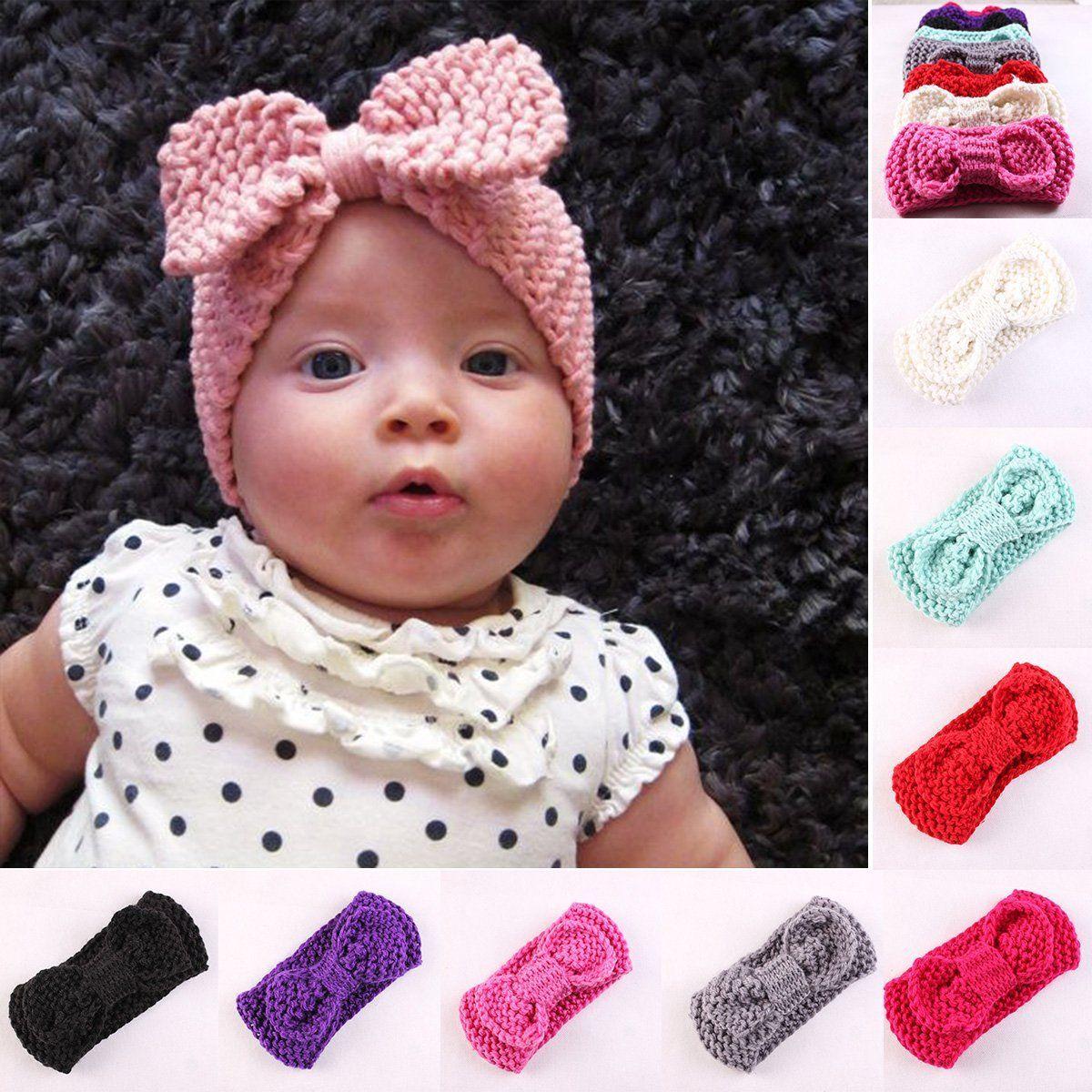Вязание повязка для девочками