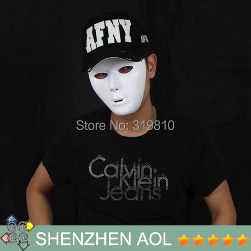 Free Shipping Hip-hop Mask Hip-hop JabbaWockeeZ Blank Male and Female Face Mask Halloween Party Mask 5pcs/lot(China (Mainland))