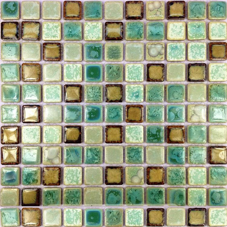 Online kopen wholesale glossy vloertegels uit china glossy vloertegels groothandel - Deco mozaieken badkamer ...