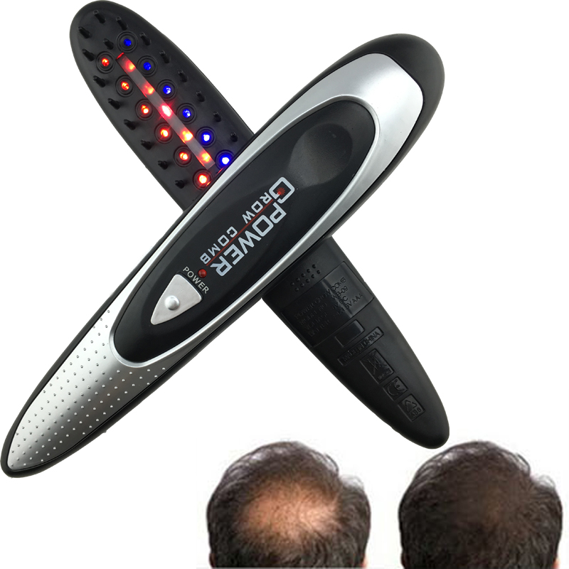 Kit Power Grow Laser Cure Loss Therapy Laser Hair Comb massager Comb Laser LASER POWER HAIR GROW COMB Free shipping<br><br>Aliexpress