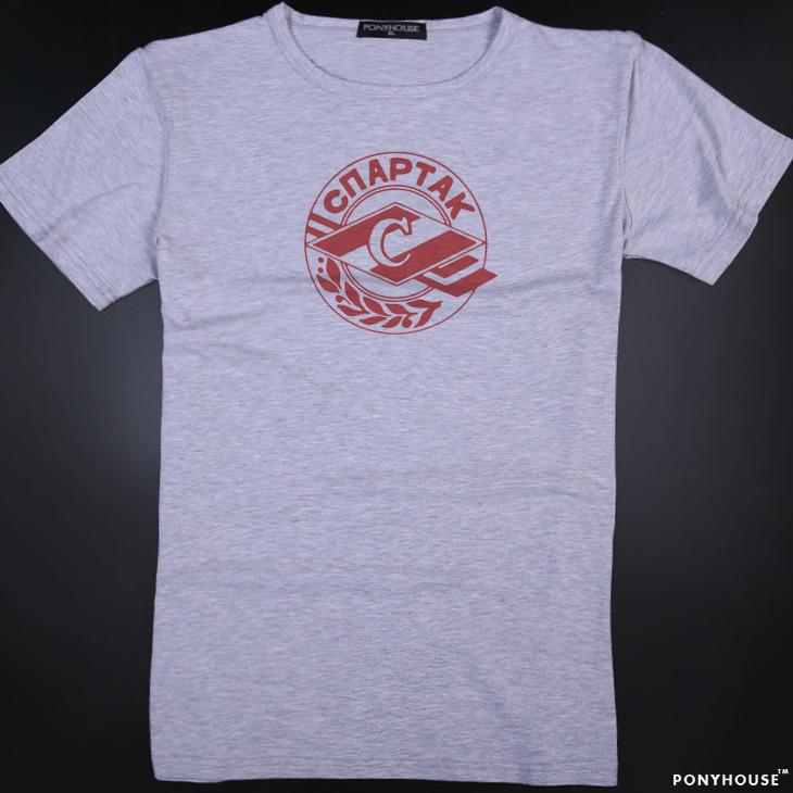 Гаджет  2015J VNR PN BQ MOSCOW SPARTAK Spartak Moscow male short sleeved T-shirt None Изготовление под заказ