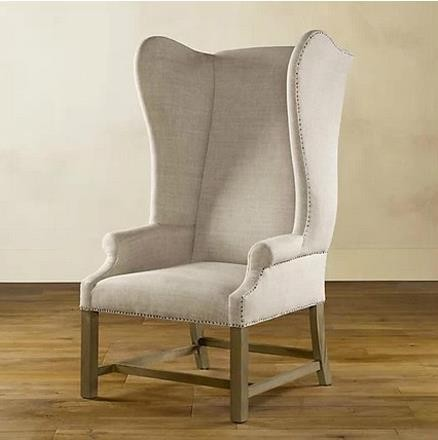 chair fabric high back armchair solid wood dining chair in dining