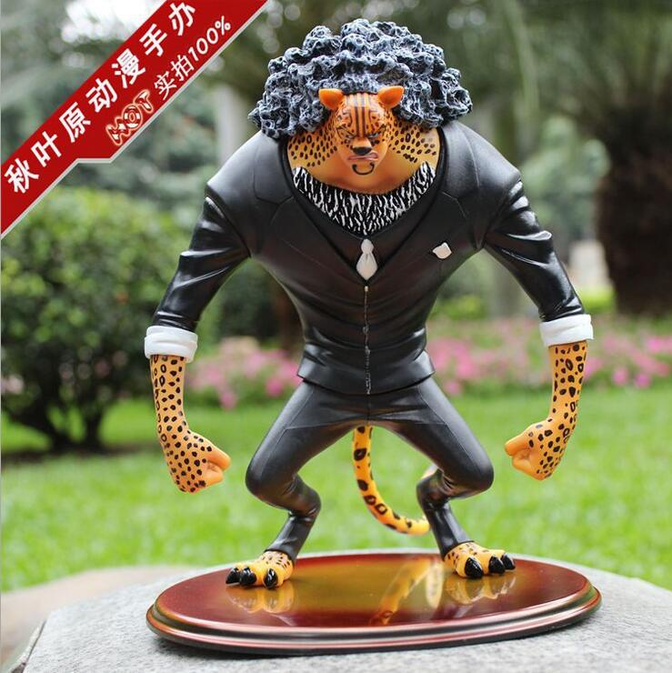 25cm CP9 Rob Lucci One Piece Anime Collectible Action Figures PVC Collection toys for christmas gift Free shipping<br><br>Aliexpress