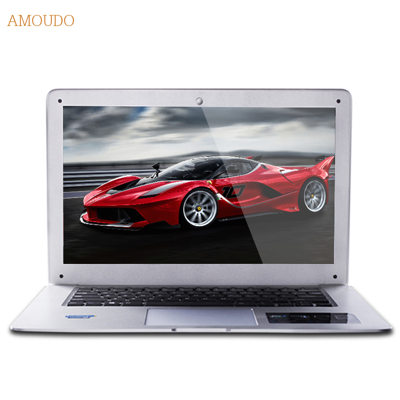 Amoudo-6C Plus 8GB RAM+1TB HDD Intel Core i5-4200U/4210U/4250U Processor Windows 7/10 System Ultrathin Laptop Notebook Computer(China (Mainland))