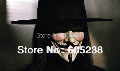 10pcs/lot Guy Fawkes Mask / V for Vendetta Mask / Party Mask