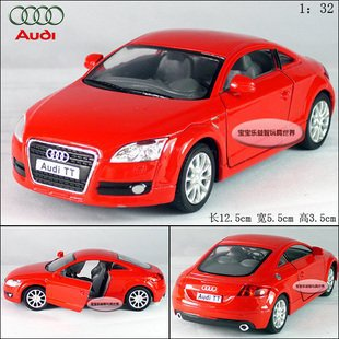 New AUDI TT Coupe 2008 1:32 Alloy Diecast Car Model Toy Collection Red B103b(China (Mainland))