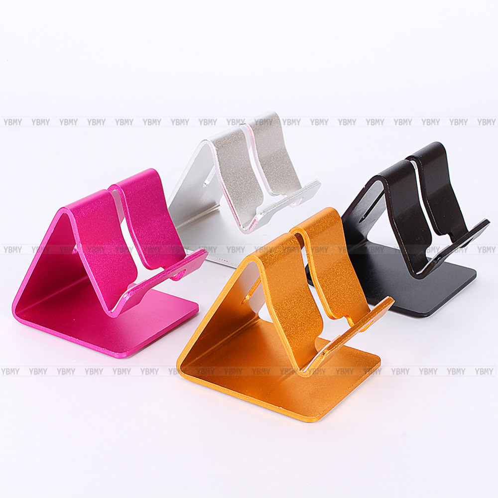 Universal Cell Phone Premium Metal Tablet Desk Stand Holder For iPhone Samsung HTC(China (Mainland))