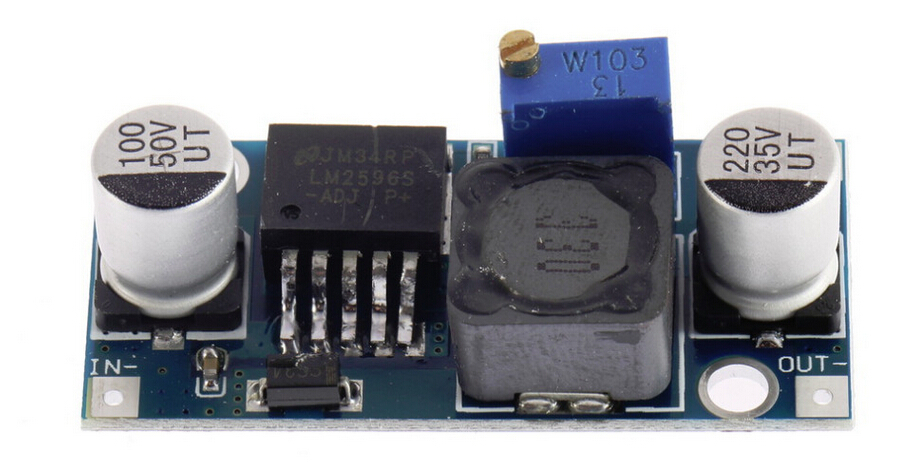 2015 Ultra-small LM2596 power supply module DC / DC BUCK 3A adjustable buck module regulator ultra LM2596S 24V switch 12V 5V 3V(China (Mainland))