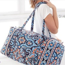 large luggage Pure cotton cloth bags sport bag women Large Duffel Free shipping(China (Mainland))