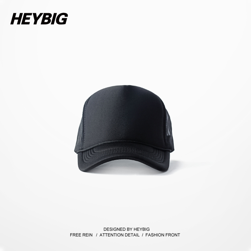 HeyBig Fashion Hiphop Baseball Caps Mesh Black Street Dancer Caps Eminem,Sun Hats Men&Women Bboy Skateboard Cap Rap Adjustable(China (Mainland))