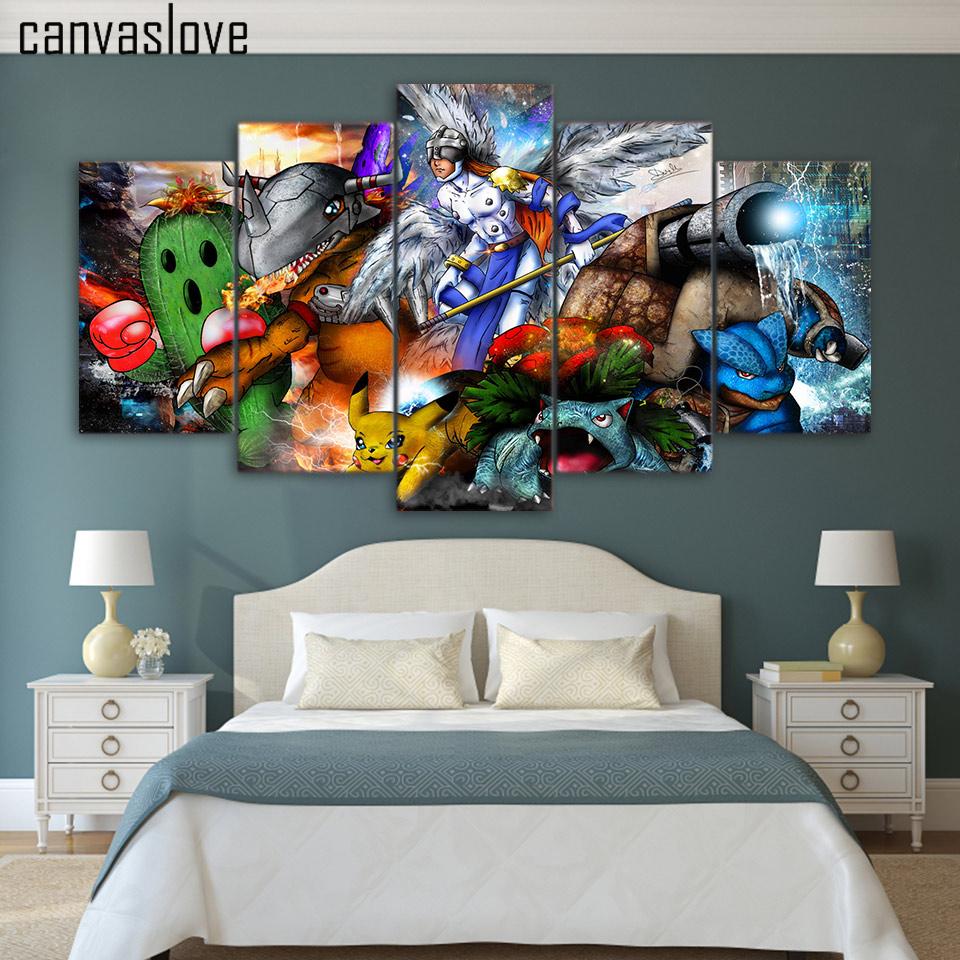 Pokemon Bedroom Decor Online Get Cheap Pictures Pokemon Aliexpresscom Alibaba Group