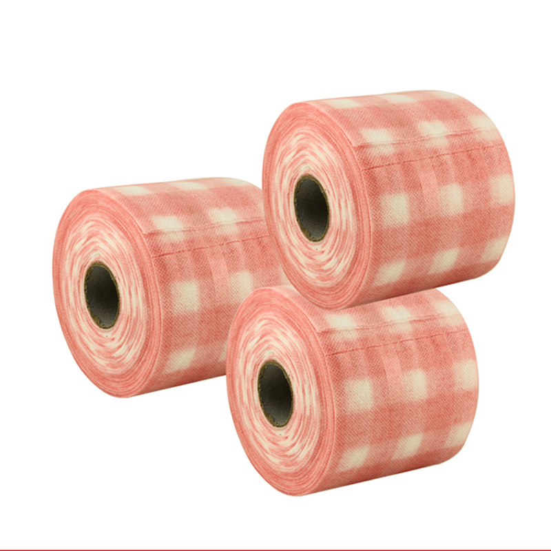 2016 Cosmetic Manicure disposable towel towel roll tool cloth nail wash towel Cotton paper towel roll for free shipping(China (Mainland))