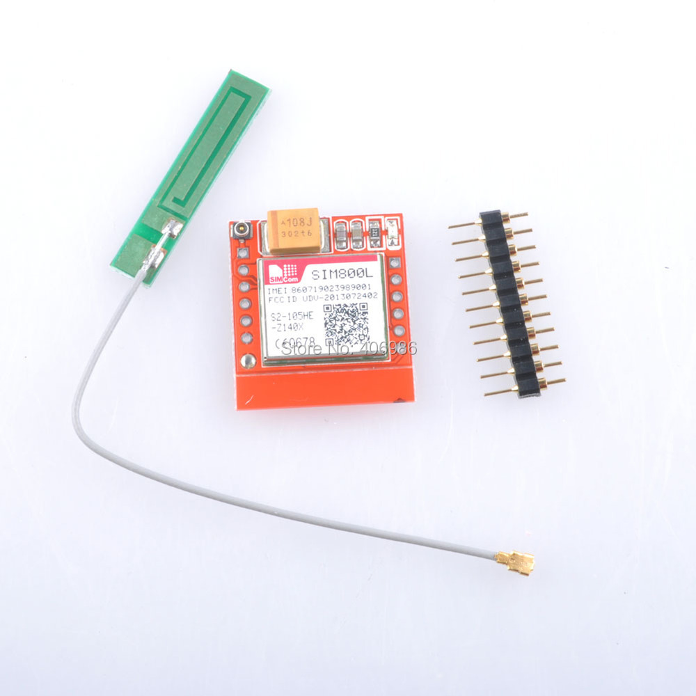 Интегральная микросхема OEM SIM800L GPRS GSM MicroSIM /ttl FZ1332 free shipping 1pcs lot smallest sim800l gprs gsm module micro sim card core board quad band ttl serial port