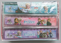Free shipping 72 pcs/lot gift Cute cartoon ruler 15cm straight ruler students gift , Wholesale