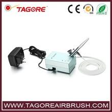 Tagore TG225K-01(100pcs) Airbrush Tattoo Makeup Kit with Mini Air Compressor(China (Mainland))