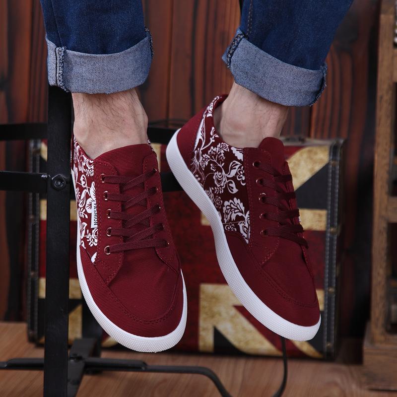 Aliexpress.com Comprar Primavera Otoño Alpargatas de Lona de Los Hombres Zapatos 2017 Talones Planos Transpirable Zapatos Casaul de Los Hombres Hombres de