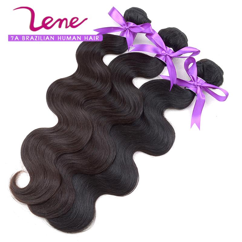100% Unprocessed Stunning Wholesale Virgin Hair Body Wave Brazilian Human Hair Weaving(China (Mainland))