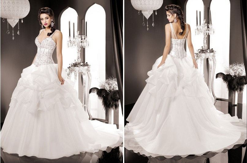 Most hot modern wedding dresses ball gown v nevk beaded for Most sexy wedding dresses