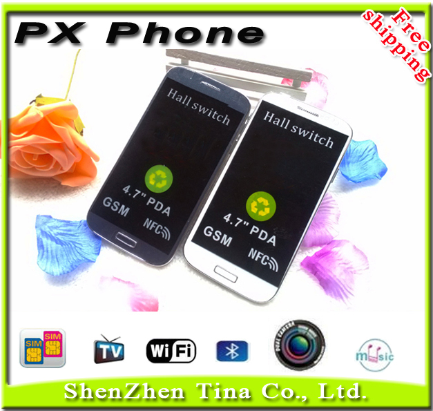 HOT New 2015 PX TV WIFI Russia Poland phone 4.7 inch Dual SIM Card Old people Children Students Girl phone +gifts(China (Mainland))