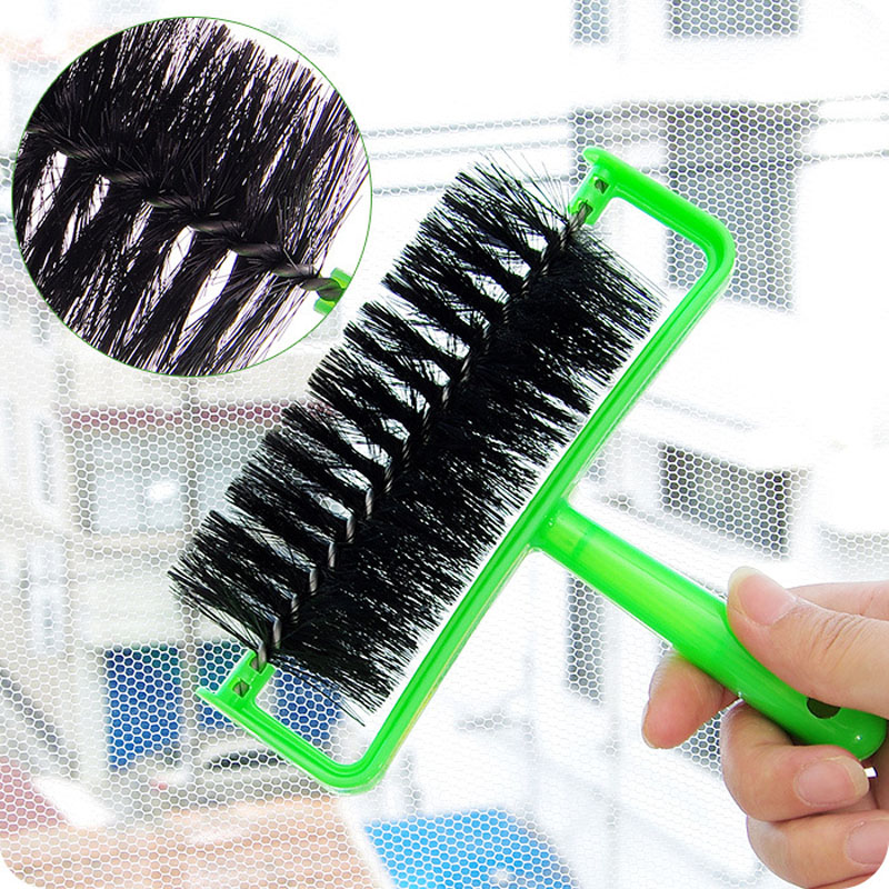 Hot sale summer scroll Curtain dust cleaning brush network Kitchen Window Curtains tulle window door screen bush XM-3381(China (Mainland))