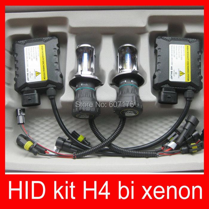 hid kit bi xenon h4 12v 35w DC hid xenon kit h4 hi lo h4-3 9004 9007 h13 bi xenon 4300k 6000k 8000k blue 12000k shipping free(China (Mainland))