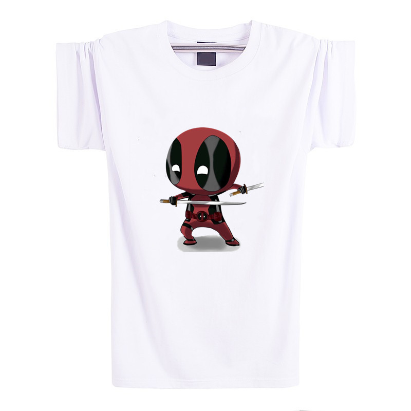2016 new brand clothing deadpool t shirt deadpool men tshirt homme t shirt men crossfit camisetas