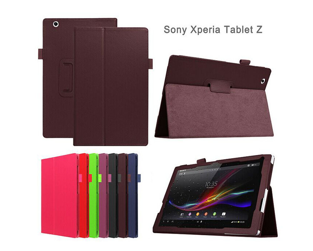 Soft Diamond plaid Folio leather stand Case skin cover shell For Sony xperia tablet Z Z1 10.1 10 .1 inch tablet cover <br><br>Aliexpress