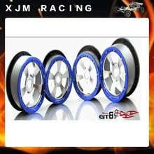 Cinco fortalecer cooperación hub ruedas balanceo para escala 1/5 GTB racing Baja 5b / ss