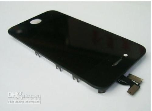 For iPhone 4G full complete LCD with digitizer touch panel screen glass display 10pcs/Lot