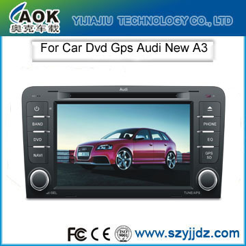 "Free shipping NEW 7"" Portable HD Car DVD GPS Navigation MP3 MP4 FM AM TV Touch Screen for AUDI A3(China (Mainland))"