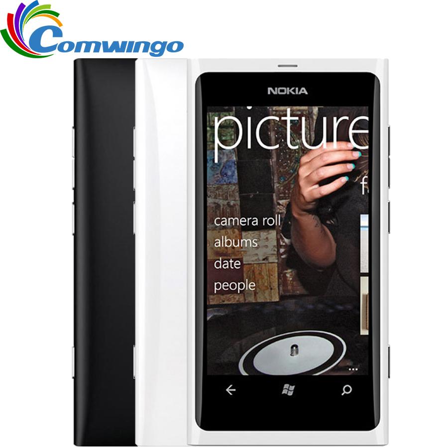 Nokia Lumia 800 Unlocked Original Phone 3G Smartphone 8MP Camera Windows Mobile Phone Free shipping Refurbished(China (Mainland))
