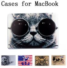 Hot Cartoon shell case cover for Apple Macbook Air Pro Retina 11.6 12 13.3 15.4 inch laptop Cases For Mac book bag,SKU 013DA(China (Mainland))
