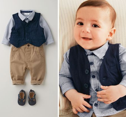 Fall 2016 Collection Boutique Gentleman Baby Three Suit Children's Suit baby boy boutique baby clothes collection(China (Mainland))