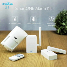 2016 New Arrival Broadlink S1C SmartOne Alarm&Security Kit For Smart Home Automation Alarm System IOS Android Remote Control(China (Mainland))