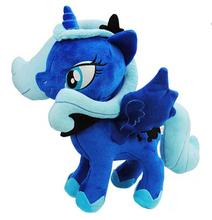 My Princess Luna Twilight Sparkle Rainbow Dash Apple Jack Rarity Fluttershy Pinkie Pie Little Cute Plush Unicorn Poni Toys(China (Mainland))