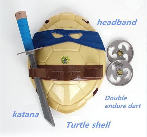 2015 New TMNT Teenage Mutant Ninja Turtles Weapons Toys TMNT Turtles Armor Shell Toy Movie Toys Kids Brinquedos Birthday Gifts(China (Mainland))