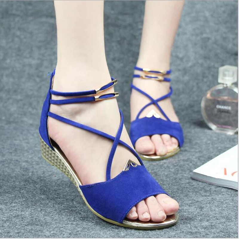 2016 Women Shoes Comfort Sandals Women Summer increased fish mouth Fashion Summer High Quality Flat Sandals within Classic<br><br>Aliexpress