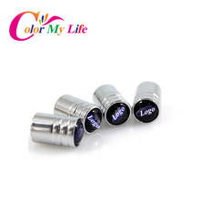 304 Highlight Stainless Steel Car Tire Air Valve Caps For Ford Focus 2 3 4 For Mondeo For Kuga Escape New Fiesta Ecosport Edge(China (Mainland))