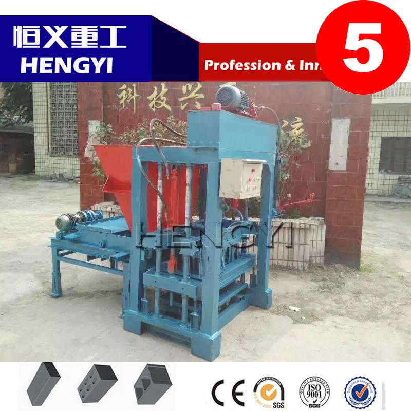 QT 4-30BH Hydraulic fully hollow-block-machine-price/eps block molding machine/wood sawdust press machine - Hengyi Heavy Industry Equipment Co., Ltd store