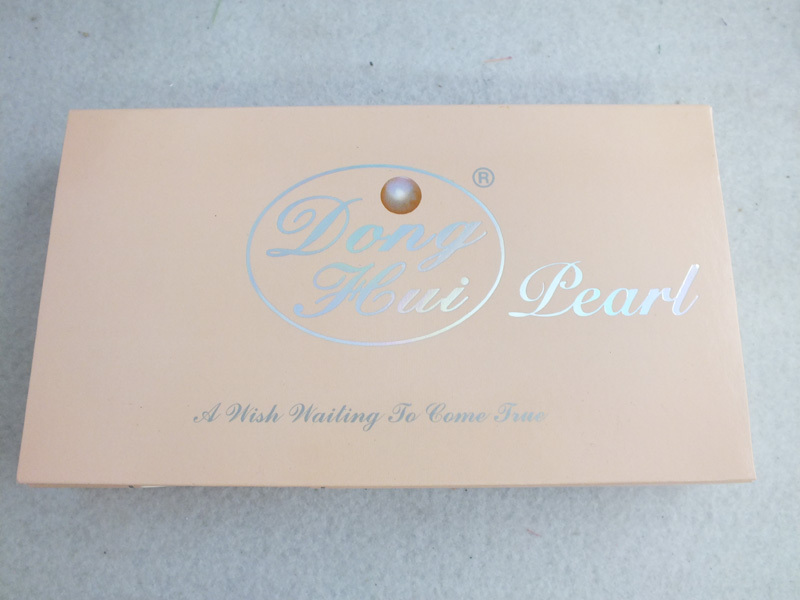 A-4223 SALE Christmas day gift box Wish Pearl Necklace set Wholesale/retail Free shipping(China (Mainland))