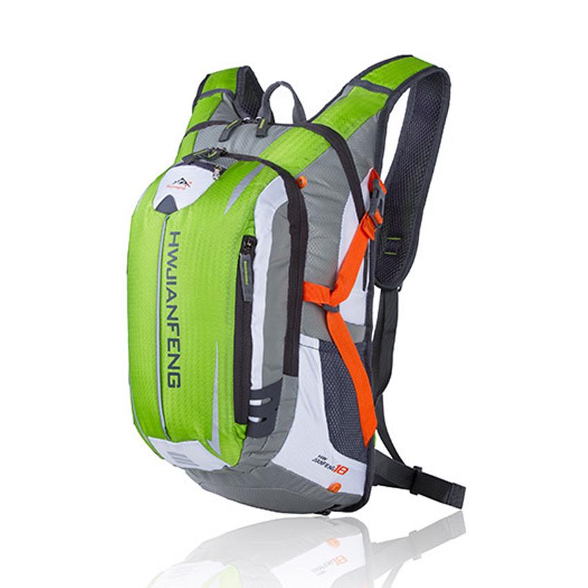 2017 Nylon Folding Waterproof Backpack Bike Rucksacks Packsack Road Cycling Bag Knapsack Riding Running Sport Travel Backpack(China (Mainland))