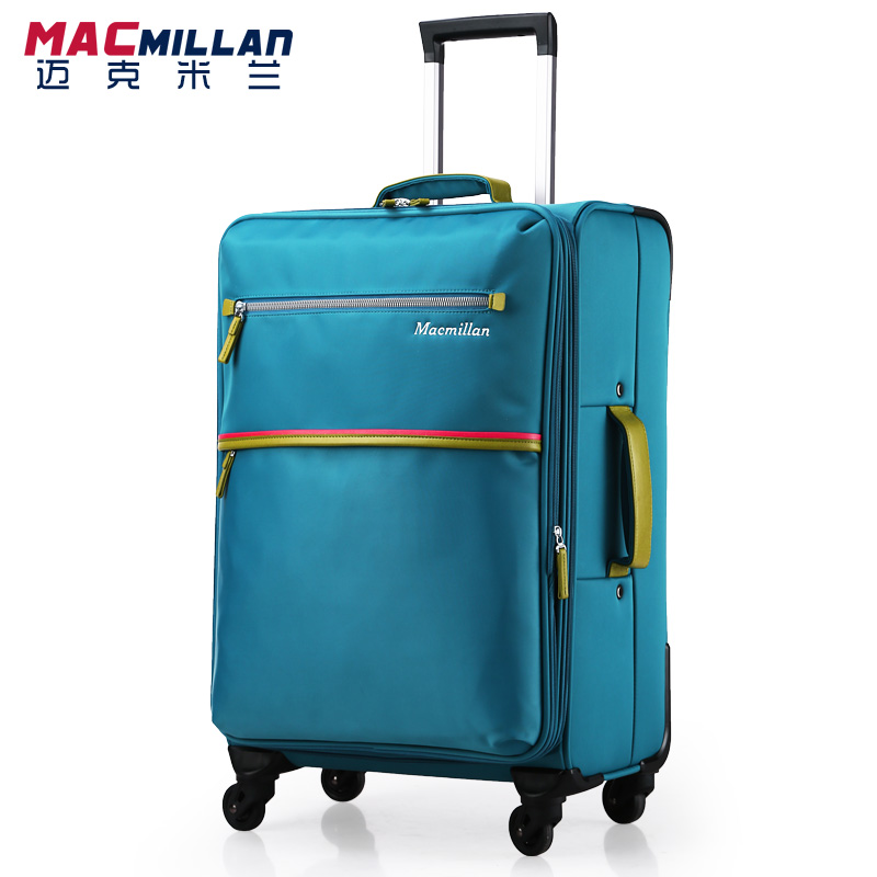 "Free shipping Macm quality universal wheels trolley luggage travel bag luggage waterproof nylone suitcase check box16""20""22""24""(China (Mainland))"
