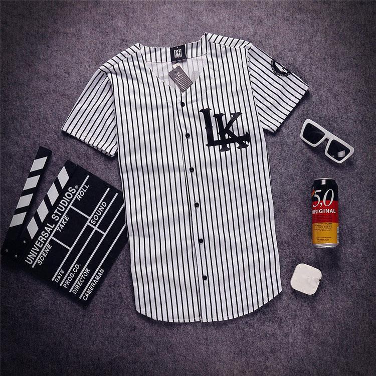 Free shipping KNYEW 07 DXPECHEF 99 Baseball T-shirt Jersey Last King LK Hip Hop Men&Women Couples Sports Cotton T-shirts Tees(China (Mainland))