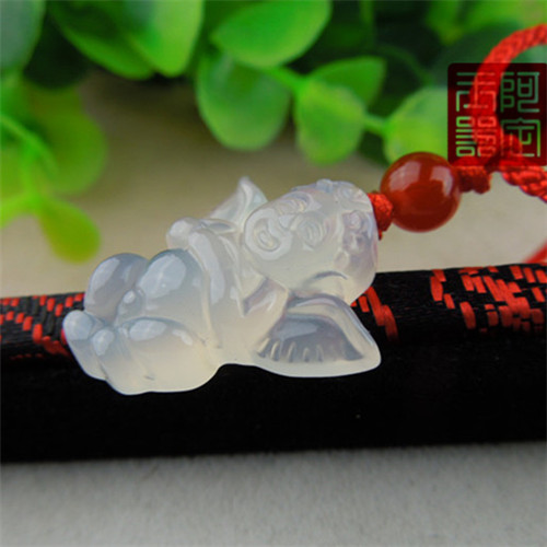 Pendants for Jewelry Natural chalcedony small agate angel pendant crystal semi gem necklace pendant Women baby new year gift<br><br>Aliexpress