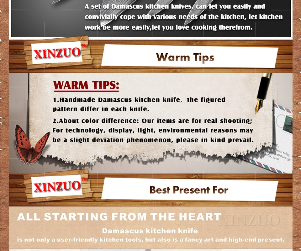 "Buy XINZUO 8"" inches bread knife 73 layers Japanese Damascus kitchen knife kitchen tool cake knife LOGS wood handle free shipping cheap"