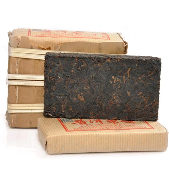 Гаджет  free shipping made in 2008 100g  6 years old  Ripe\Shu  YunNan Chinese puer \pu erh\Brick\black tea\Cha None Еда